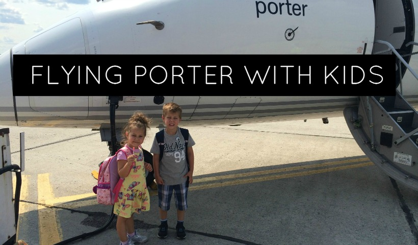Flying Porter with Kids